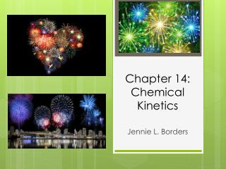 Chapter 14: Chemical Kinetics