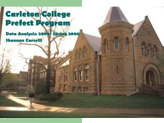 Carleton College Prefect Program