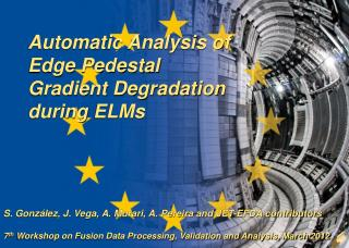 Automatic Analysis of Edge Pedestal Gradient Degradation during  ELMs