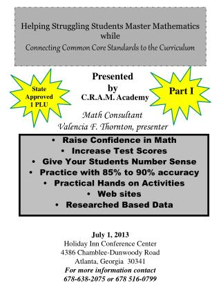 Raise Confidence in Math Increase Test Scores Give Your Students Number Sense
