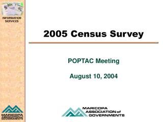 2005 Census Survey