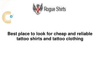 Tattoo Clothing
