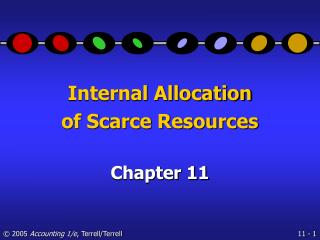 Internal Allocation of Scarce Resources