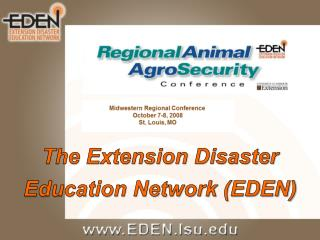 The Extension Disaster  Education Network (EDEN)