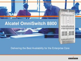Alcatel OmniSwitch 8800