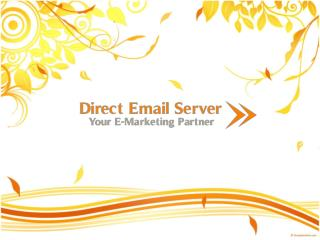 Email Marketing Service - Dedicated Servers, VPS, SMTP