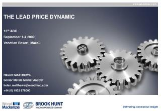 THE LEAD PRICE DYNAMIC