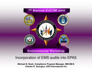 Incorporation of EMS audits into EPAS