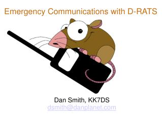 Emergency Communications with D-RATS