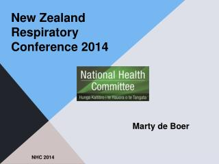 New Zealand Respiratory Conference 2014