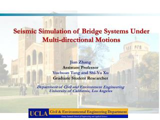 Seismic Simulation of Bridge Systems Under Multi-directional Motions