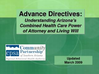 Advance Directives: Understanding Arizona's Combined Health Care Power of Attorney and Living Will