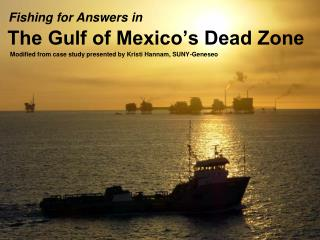 The Gulf of Mexico's Dead Zone