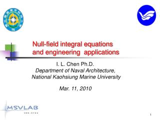 Null-field integral equations  and engineering  applications
