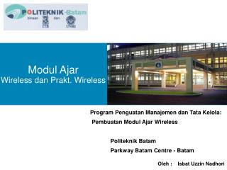 Modul Ajar Wireless dan Prakt. Wireless