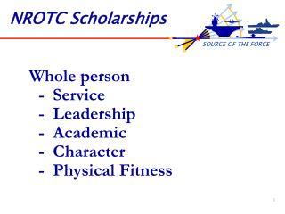 NROTC Scholarships