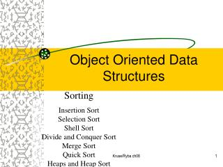 Object Oriented Data Structures