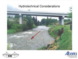 Hydrotechnical Considerations
