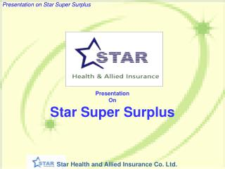 Presentation  On Star Super Surplus
