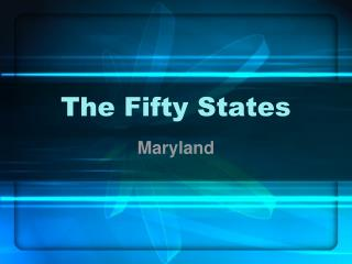 The Fifty States