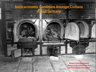 Socio-economic Conditions Amongst Civilians in Nazi Germany