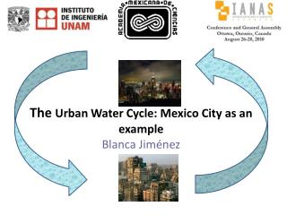 The  Urb an Water Cycle: Mexico City as an example Blanca Jiménez