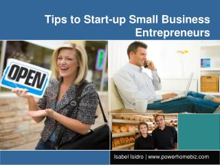 How to Start a Successful Startup Small Business