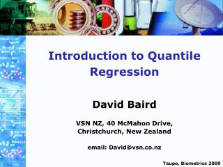 Introduction to Quantile Regression