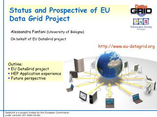 Status and Prospective of EU Data Grid Project