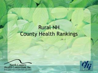Rural NH  County Health Rankings