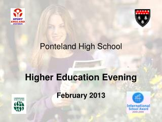 Ponteland High School Higher Education Evening