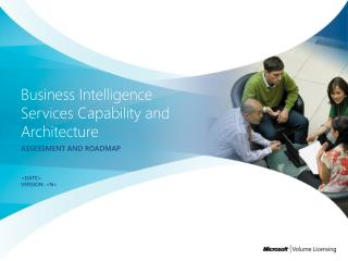Business Intelligence Services Capability and Architecture
