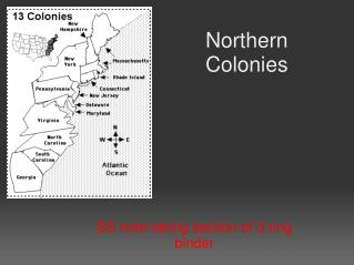 Northern Colonies
