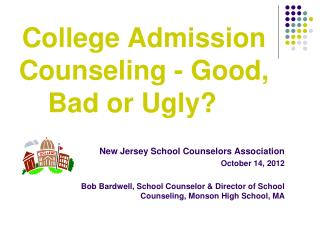 College Admission Counseling - Good, Bad or Ugly?
