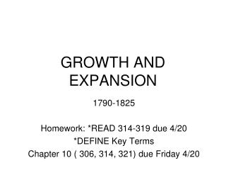 managing growth and expansion Scale, she argued, can be achieved not just through expansion to new sites, schools or districts—which organizational growth and change management.