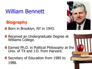 William Bennett