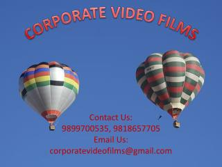 Paramount Corporate Video Film makers in the City