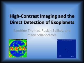 High-Contrast Imaging and the Direct Detection of Exoplanets