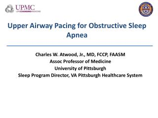 Upper  Airway Pacing for Obstructive Sleep Apnea