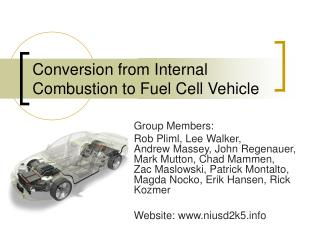 Conversion from Internal Combustion to Fuel Cell Vehicle