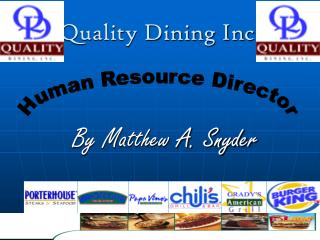 Quality Dining Inc.