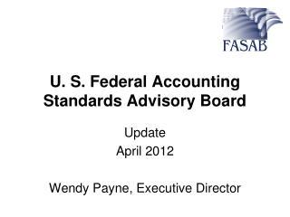 U. S. Federal Accounting Standards Advisory Board