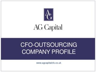 AG Capital - CFOTemplates.com