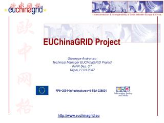 EUChinaGRID Project
