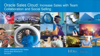 Oracle Sales Cloud:  Increase Sales with Team Collaboration and Social Selling