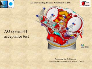 AO system #1 acceptance test
