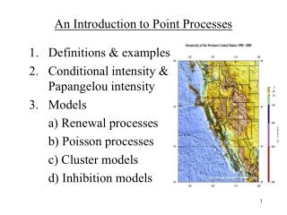 An Introduction to Point Processes