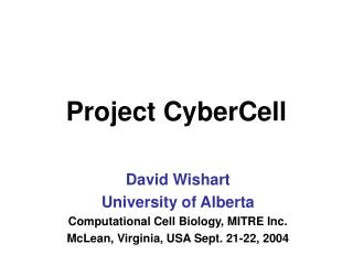 Project CyberCell