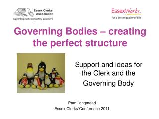 Governing Bodies – creating the perfect structure