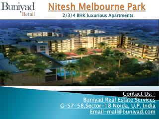 Nitesh Melbourne Park by Nitesh Group at Bangalore